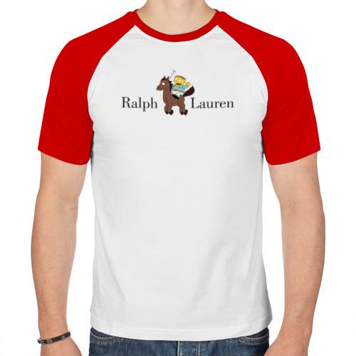 Мужская футболка реглан  Фото 01, Ralph Wiggum Lauren