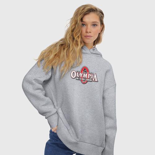 Женское худи Oversize хлопок Mr. Olympia Фото 01