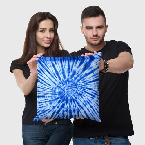 Подушка 3D  Фото 05, Tie dye