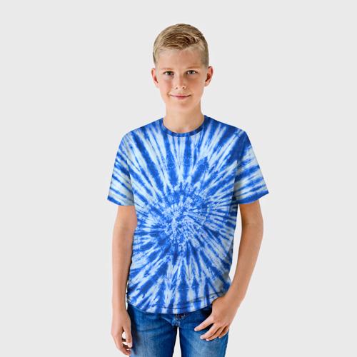 Детская футболка 3D  Фото 01, Tie dye