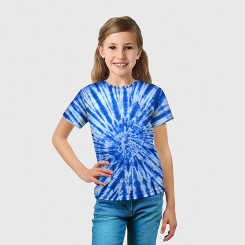 Детская футболка 3D  Фото 03, Tie dye