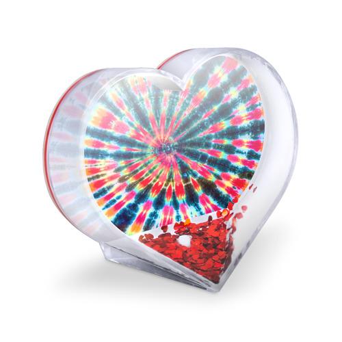 Сувенир Сердце  Фото 03, Tie dye