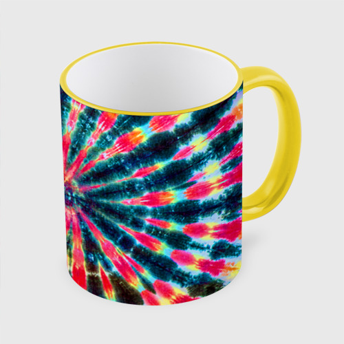 Кружка с полной запечаткой Tie dye