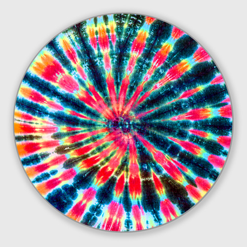 Коврик для мышки круглый Tie dye Фото 01