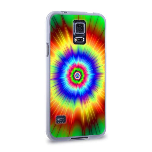 Чехол для Samsung Galaxy S5 силиконовый  Фото 02, Tie dye