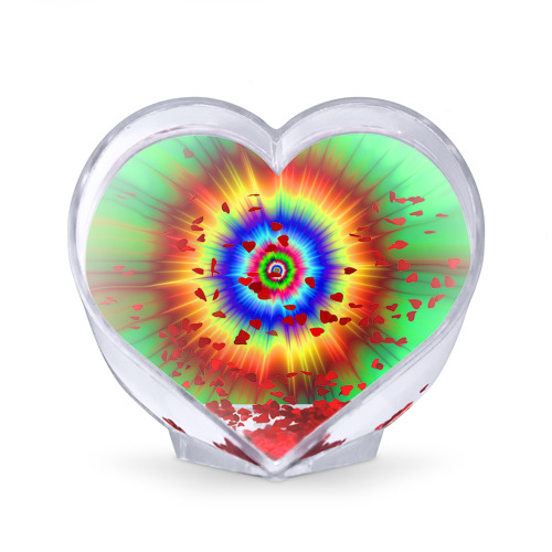 Сувенир Сердце  Фото 02, Tie dye