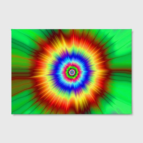 Холст прямоугольный  Фото 02, Tie dye