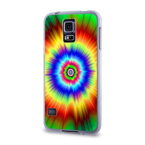 Чехол для Samsung Galaxy S5 силиконовый  Фото 03, Tie dye