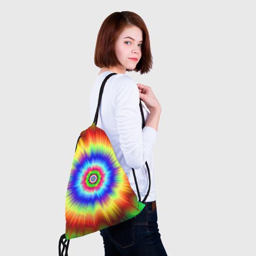Рюкзак-мешок 3D Tie dye Фото 01