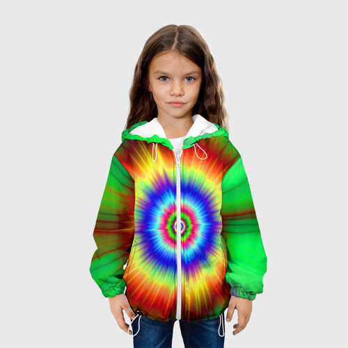 Детская куртка 3D  Фото 04, Tie dye