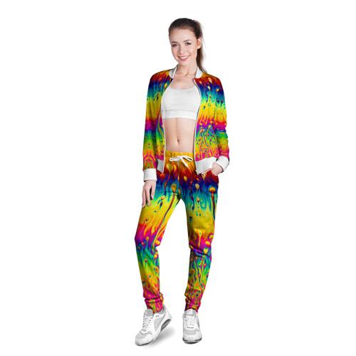 Женская олимпийка 3D  Фото 03, Tie dye