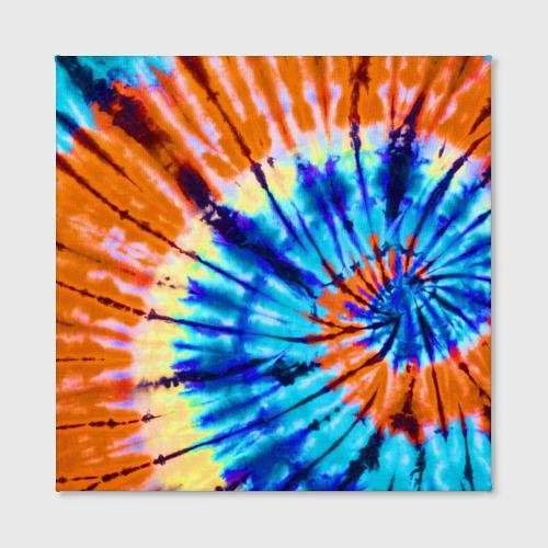 Холст квадратный  Фото 02, Tie dye