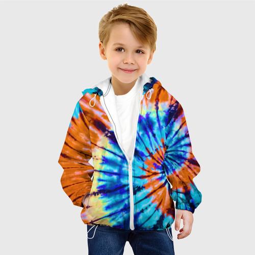 Детская куртка 3D  Фото 03, Tie dye