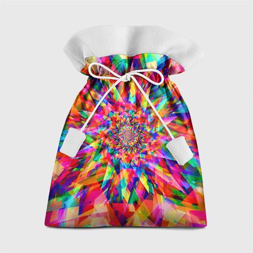 Подарочный 3D мешок Tie dye