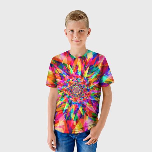 Детская футболка 3D Tie dye