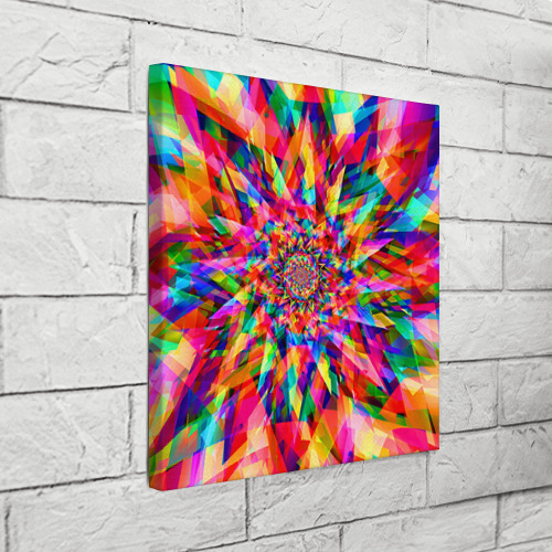 Холст квадратный  Фото 03, Tie dye