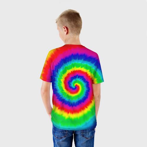 Детская футболка 3D  Фото 02, Tie dye