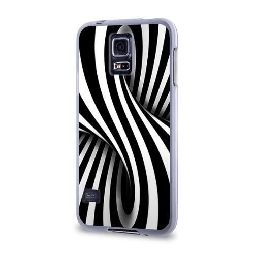 Чехол для Samsung Galaxy S5 силиконовый  Фото 03, Оптические иллюзии
