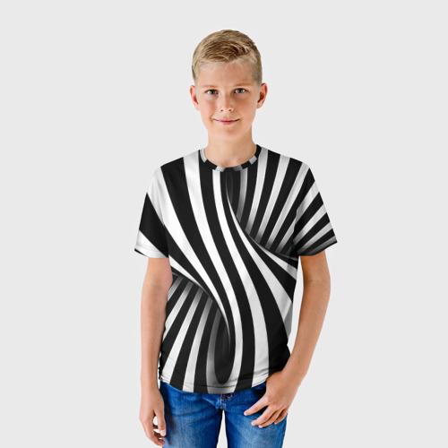 Детская футболка 3D Оптические иллюзии