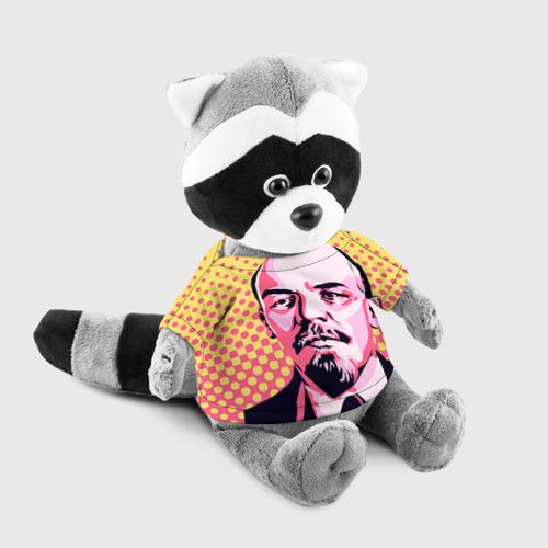 Енотик в футболке 3D  Фото 03, Поп-арт. Ленин