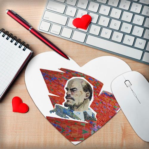 Коврик сердце  Фото 02, Ленин