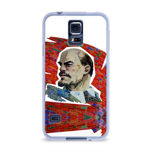 Чехол для Samsung Galaxy S5 силиконовый  Фото 01, Ленин