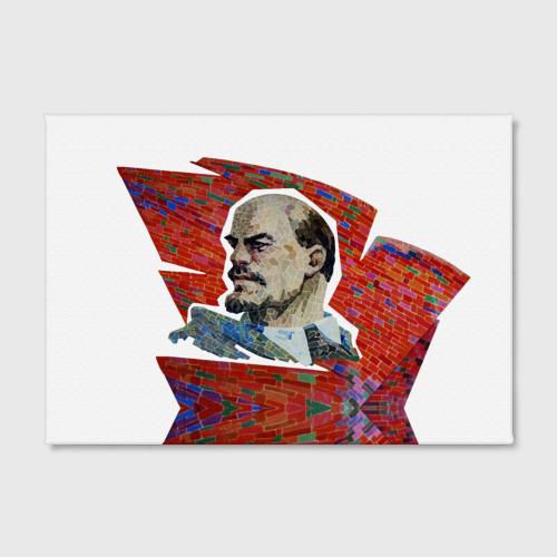 Холст прямоугольный  Фото 02, Ленин