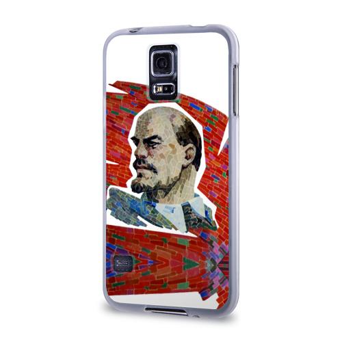 Чехол для Samsung Galaxy S5 силиконовый  Фото 03, Ленин