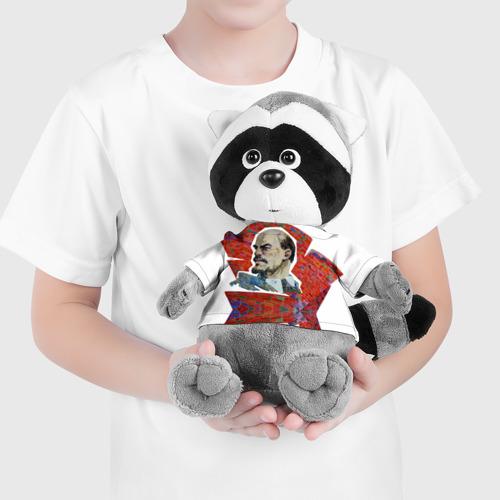 Енотик в футболке 3D  Фото 04, Ленин