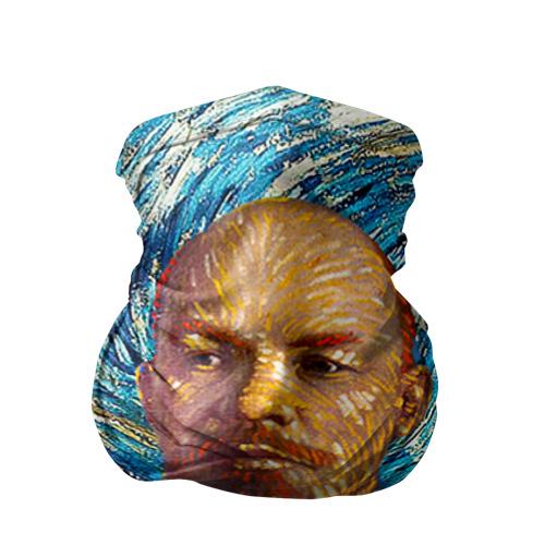 Бандана-труба 3D Ленин по мотивам Ван Гога