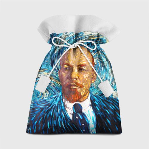 Подарочный 3D мешок Ленин по мотивам Ван Гога