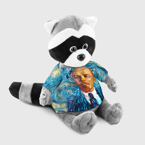 Енотик в футболке 3D  Фото 03, Ленин по мотивам Ван Гога