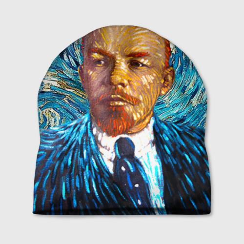 Шапка 3D Ленин по мотивам Ван Гога