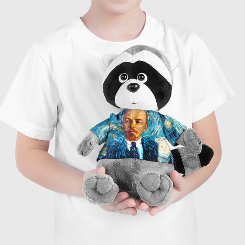 Енотик в футболке 3D  Фото 04, Ленин по мотивам Ван Гога