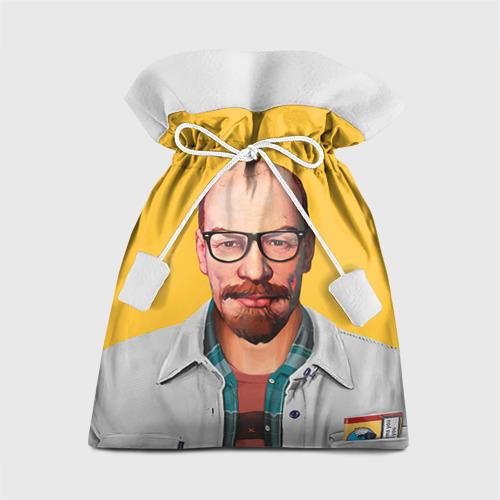 Подарочный 3D мешок Ленин хипстер