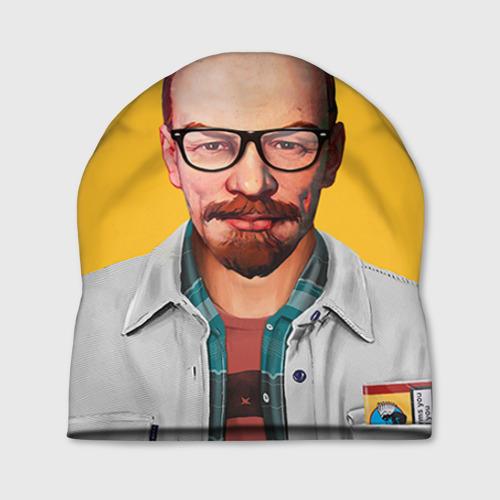 Шапка 3D Ленин хипстер