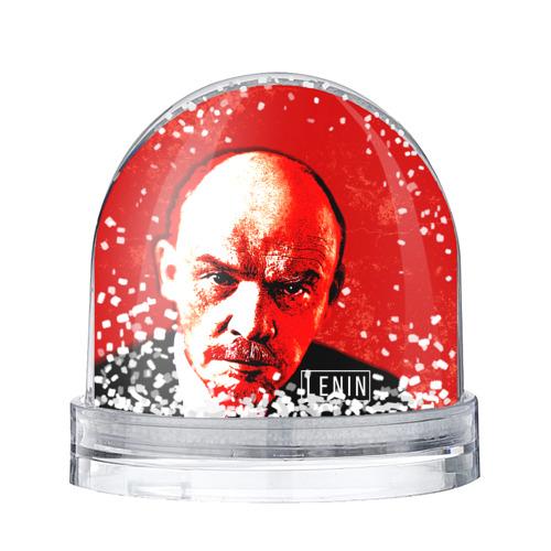 Водяной шар со снегом Ленин