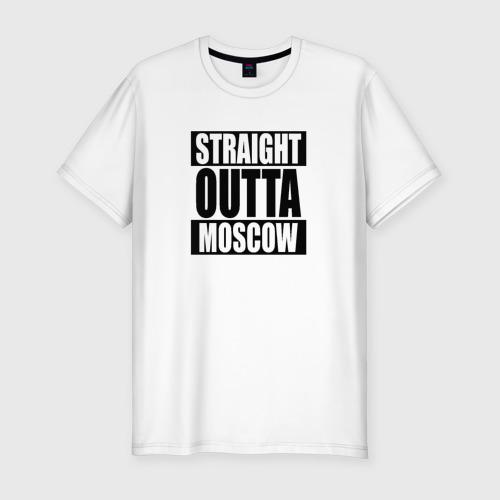 Мужская футболка премиум Прямиком из Москвы Фото 01