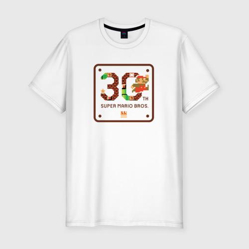 Мужская футболка премиум  Фото 01, Super Mario