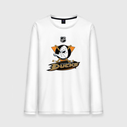 Мужской лонгслив Anaheim Ducks (Black)