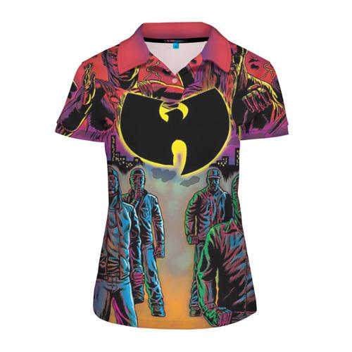 Женская рубашка поло 3D Wu tang clan