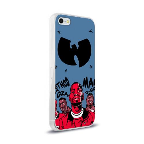Чехол для Apple iPhone 5/5S силиконовый глянцевый  Фото 02, Wu-Tang Clan