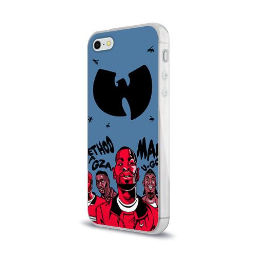Чехол для Apple iPhone 5/5S силиконовый глянцевый  Фото 03, Wu-Tang Clan