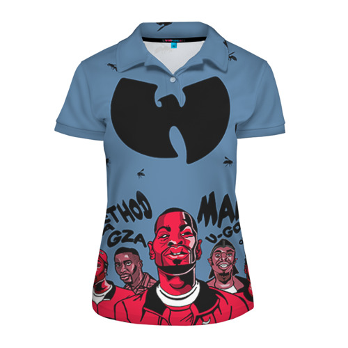Женская рубашка поло 3D Wu-Tang Clan