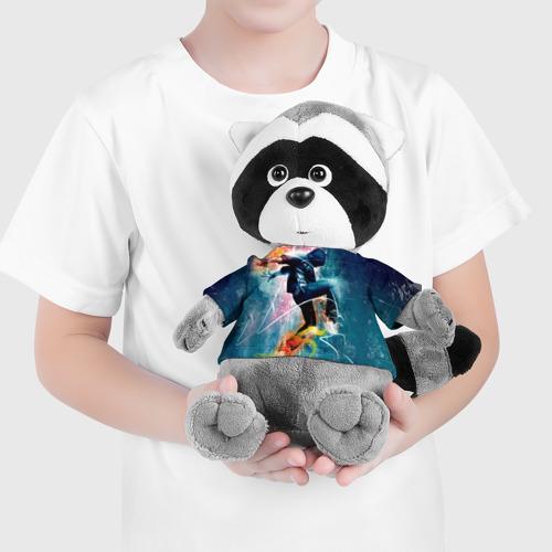 Енотик в футболке 3D  Фото 04, Hip hop