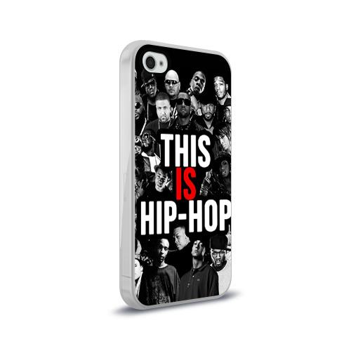 Чехол для Apple iPhone 4/4S силиконовый глянцевый  Фото 02, Hip hop