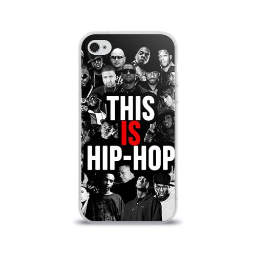 Чехол для Apple iPhone 4/4S силиконовый глянцевый  Фото 01, Hip hop