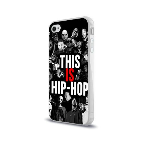 Чехол для Apple iPhone 4/4S силиконовый глянцевый  Фото 03, Hip hop