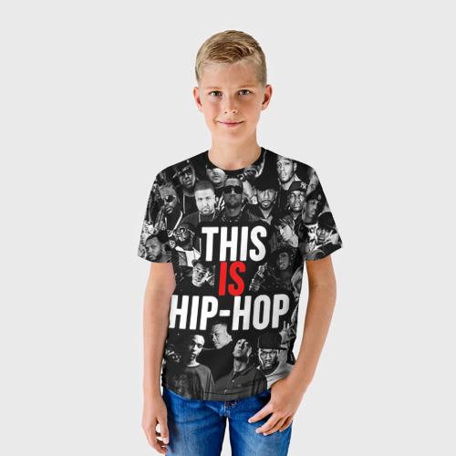 Детская футболка 3D Hip hop