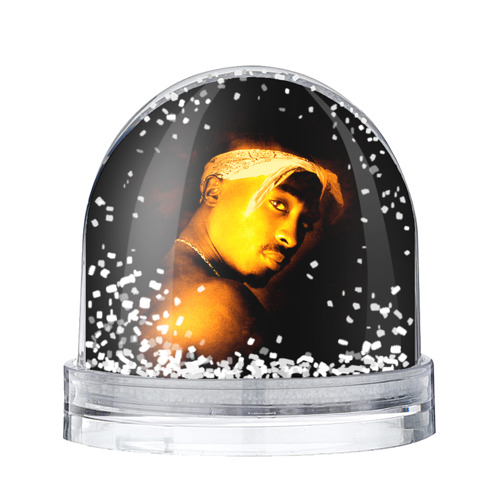 Водяной шар со снегом 2pac